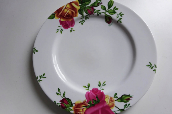 Royal Albert Bord met Rozen