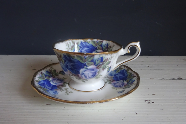 Moonlight Rose, Royal  Albert, Dames Kop en Schotel
