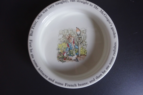 Wedgwood, Peter Rabbit Warmhoudbordje