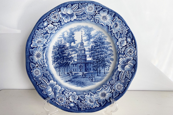 Staffordshire, Liberty Blue, Dinerbord